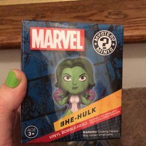 Marvel she hulk mini bobble head! Brand new!